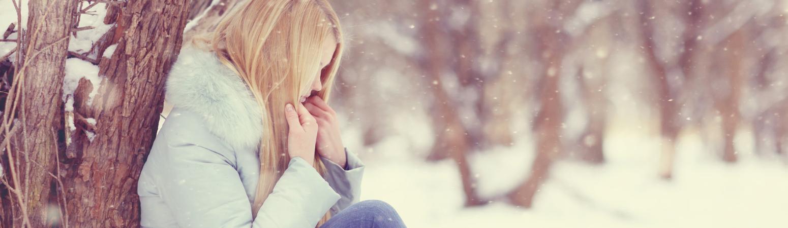 women outside cold